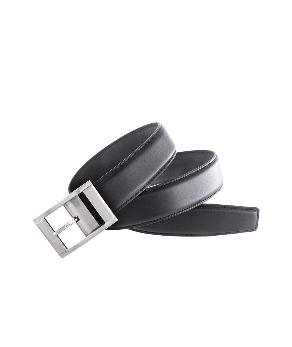 Cinturón de piel negro, 35mm
