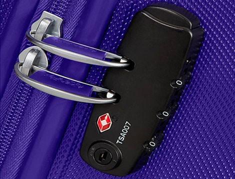 ¿Qué es el cierre TSA de una maleta?